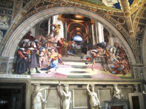 The Vatican Rooms: Raffaello, La Cacciata di Eliodoro