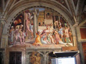 The Vatican Museums: raffaello incendio del borgo